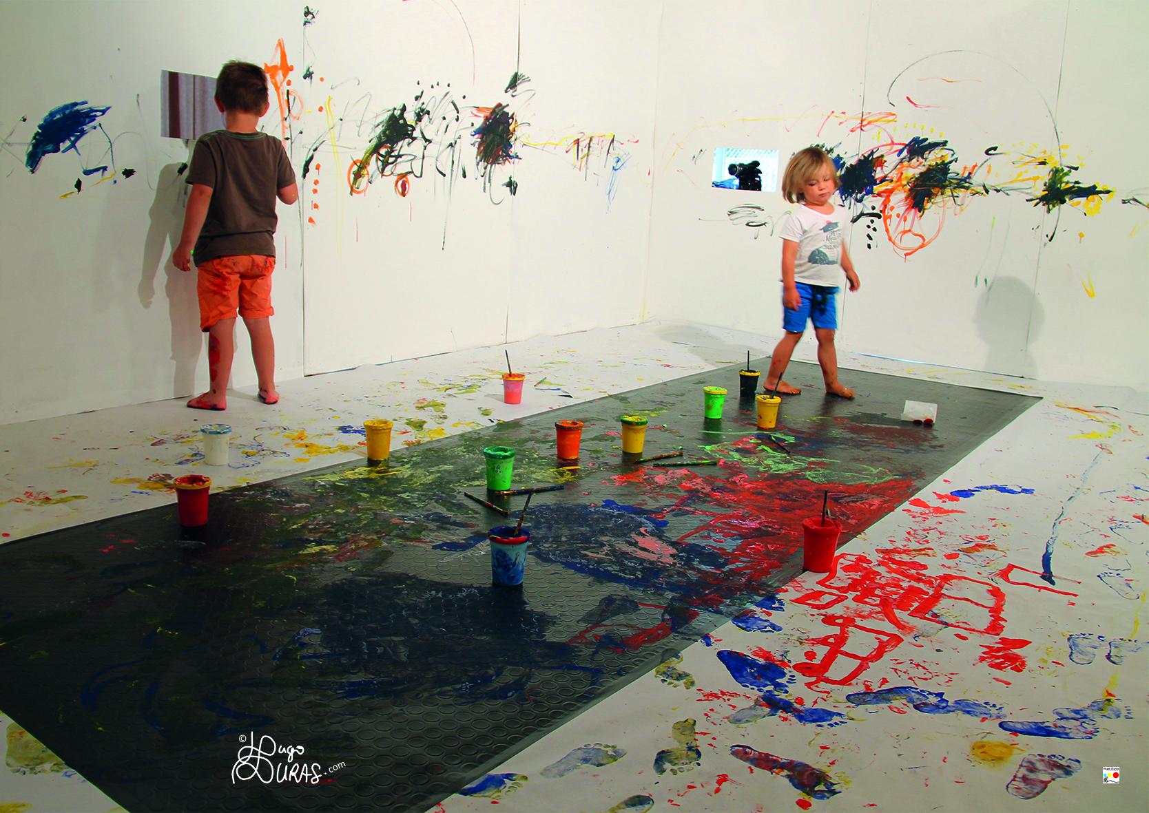 éveil à l'art chez le tout petit - Hugo Duras