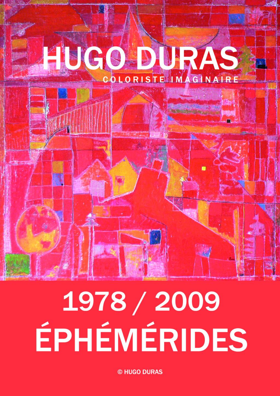 1978-2009 – EPHEMERIDES – Hugo Duras artiste peintre nantais