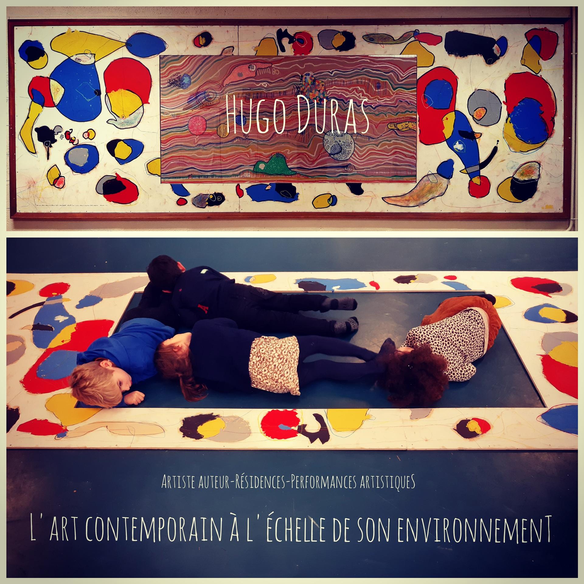 L'art à l'école – Hugo Duras