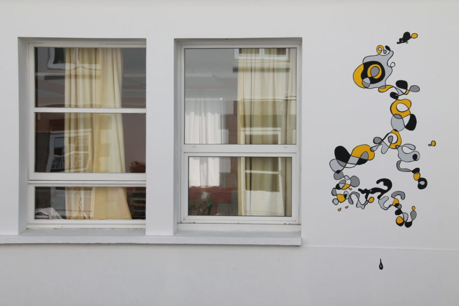 Fresque école – Hugo Duras