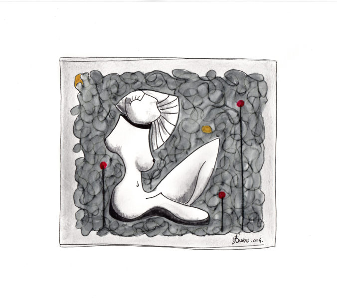 La pensée des corps (21x15cm) – Hugo Duras