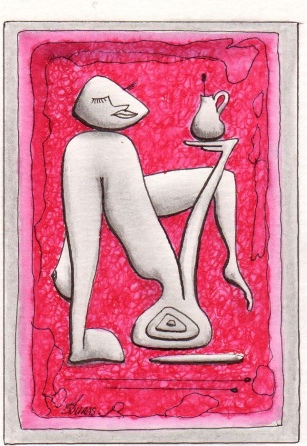 La pensée des corps – Composition- Hugo Duras (21x15cm)