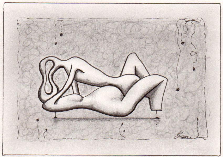 La pensée des corps – Union – Hugo Duras (21x15cm)