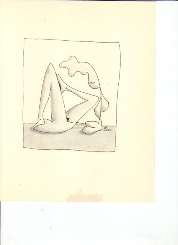 La pensée des corps – L'hermaphrodite – Hugo Duras (21x15cm)