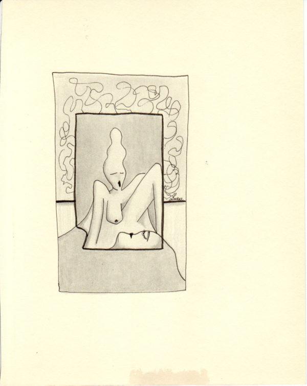 La pensée des corps – Rêverie diurne -Hugo Duras (21x15cm)