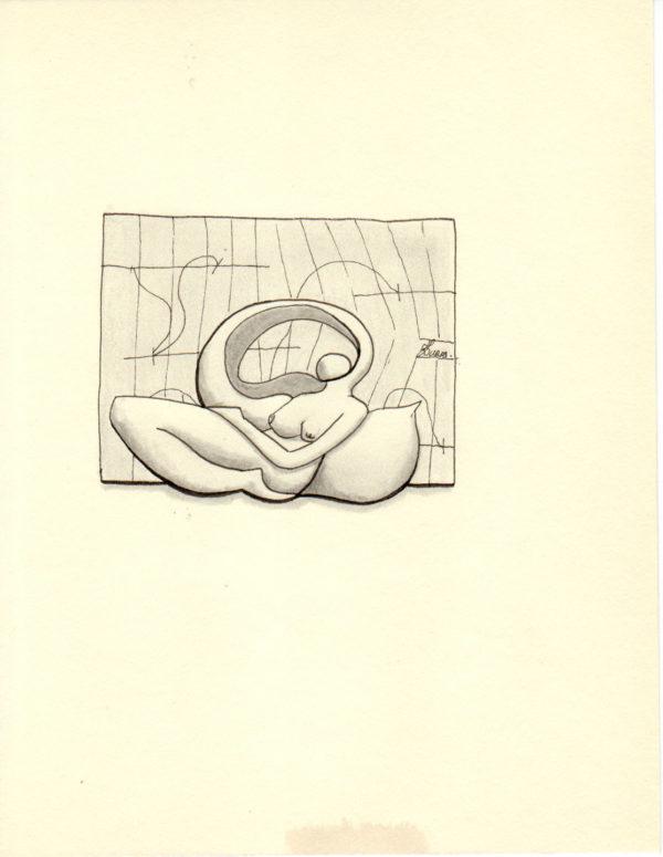 Hugo Duras – La pensée des corps – Sommeil segmenté (21x15cm)