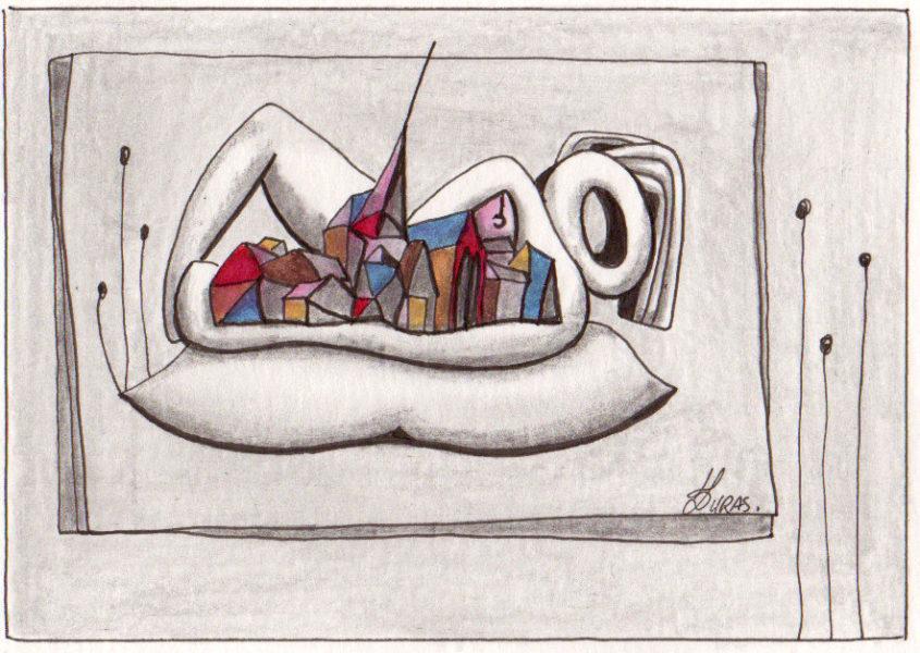 La pensée des corps-Hugo Duras 46-2004