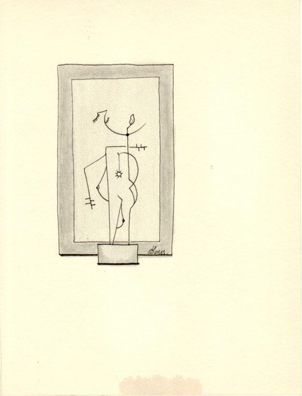 La pensée des corps – Le pendentif – Hugo Duras (21x15cm)