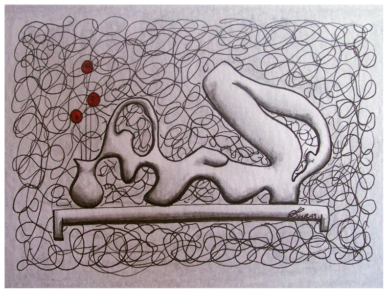 La pensée des corps – Délivrance (21x15cm) – Hugo Duras
