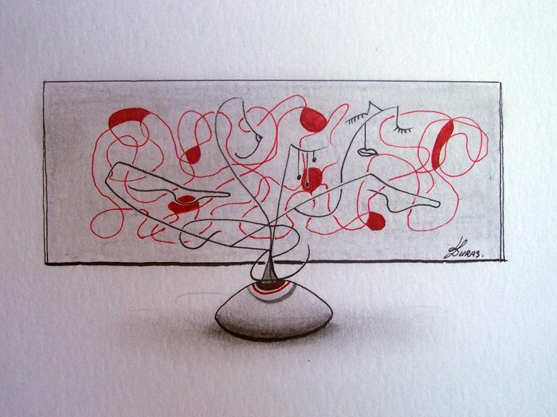 La pensée des corps – (21x15cm) – Hugo Duras