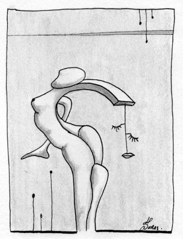 Hugo Duras – La pensée des corps – Recherche de l'équilibre (24x15cm)