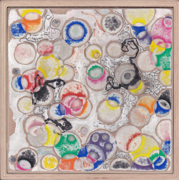Jardin abstrait 04 (22×22)