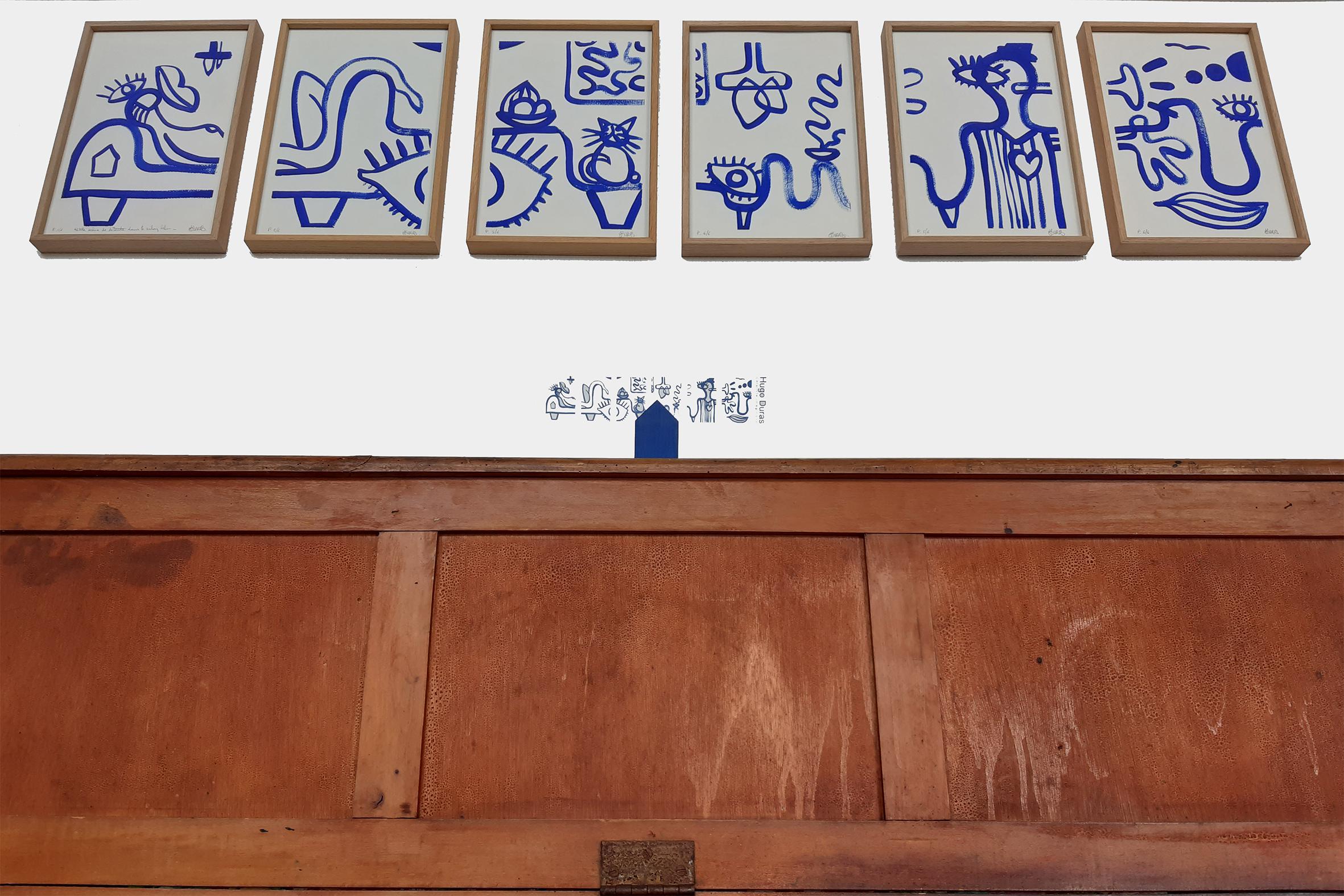 Petite Scène De Détente Dans Le Salon Bleu 6 x (30×20)_HugoDuras_2020